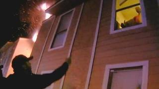 10-Year-Old Boy Leaps from Window of Burning Building