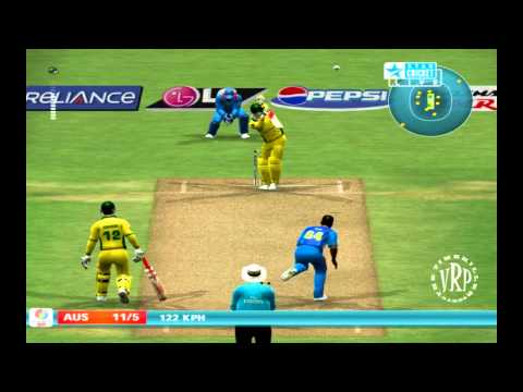 India vs Australia: Ea Sports Cricket 2007 Knockout Cup Semifinal  Part 2