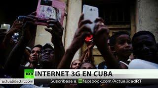 Cuba inaugura servicio de internet en teléfonos con tecnología 3G