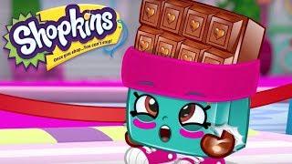 SHOPKINS Cartoon - PUMPED UP CHOCOLATE | Cartoons For Children