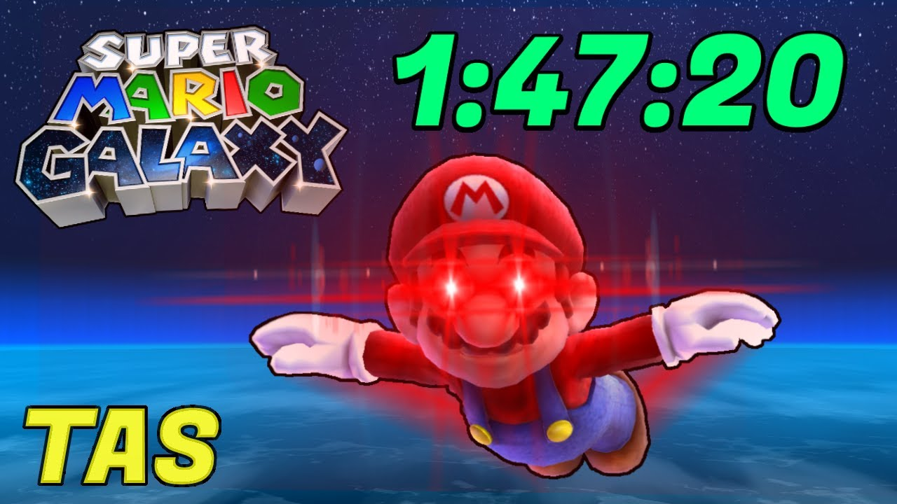 [TAS] Super Mario Galaxy (Fast Flying Mario) in 1:47:20 | 4K 60ᶠᵖˢ
