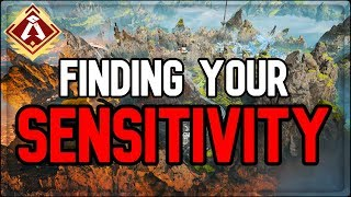 Finding your own perfect mouse sensitivity on PC (Coach Nihil | APEX UNIVERSITY)