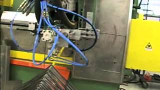 VARO PTE-2D - автоматическая гибочная машина для проволоки(Гибка рамки размером 300 х 300 мм из металлической проволоки круглого сечения и сварка рамки встык. http://varo-russia.r..., 2015-09-11T15:15:46.000Z)