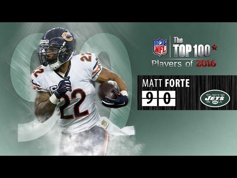 #90: Matt Forte (RB, Jets) | Top 100 NFL Players of 2016