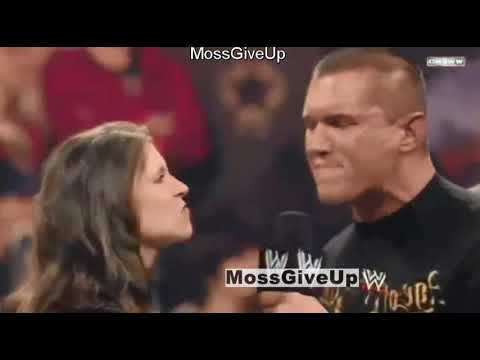 Download Randy Orton KISS Stephanie Mcmahon in front of Triple H