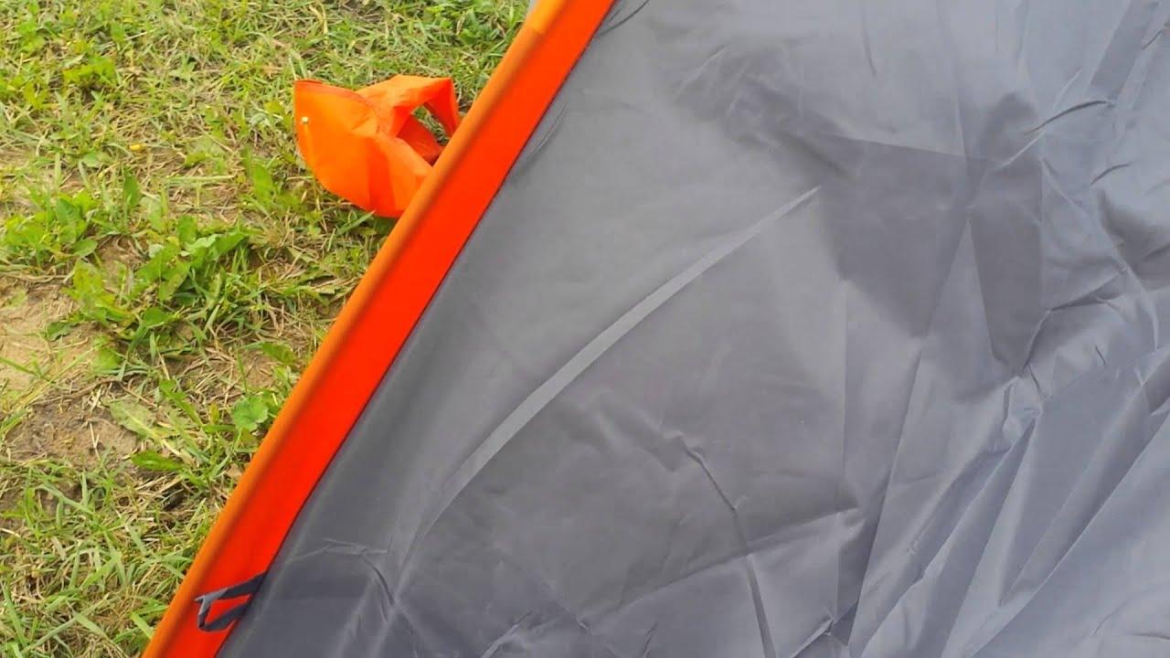палатка Talberg Burton 1 - YouTube