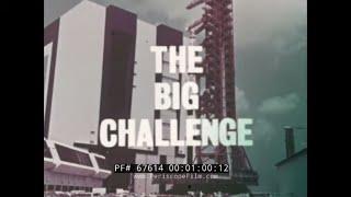 """THE BIG CHALLENGE""  1967 JOHN F. KENNEDY SPACE CENTER   NASA DOCUMENTARY 67614"