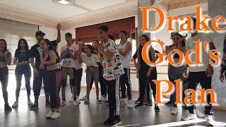 Drake - God's Plan | Dance Choreography by Zakariae Hittouche