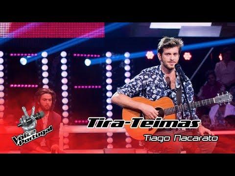 """Tiago Nacarato - """"Oceano""""  Tira-Teimas  The Voice Portugal"""