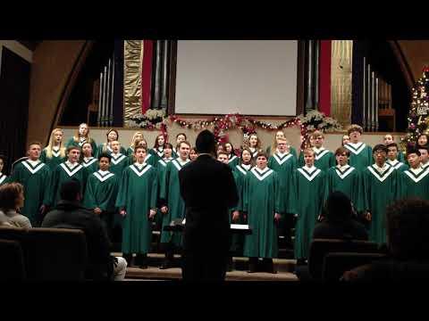 Ding Dong! Merrily on High! - HS Choir - Christmas Concert