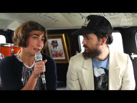Exclusive interview with Edward Sharpe and the Magnetic Zeros for OFF GUARD GIGS at Latitude 2012