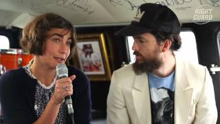 Exclusive interview with Edward Sharpe and the Magnetic Zeros for OFF GUARD GIGS at Latitude 2012 Resimi