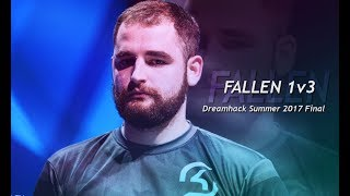 FalleN comenta jogada EPICA vs fnatic na final da DreamHack Summer