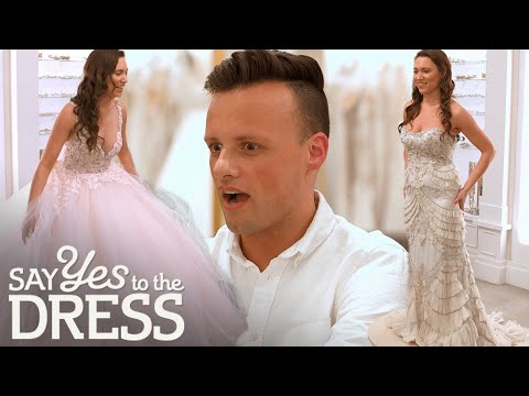 Bride Will Only Try On Lazaro Dresses | Say Yes To The Dress America