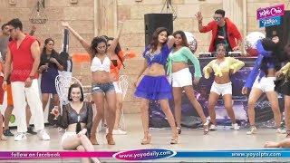 On Location Glamour Swimming Pool Party Song Shoot Of The Film ...