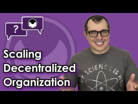 Ethereum Q&A: Scaling Decentralized Organization