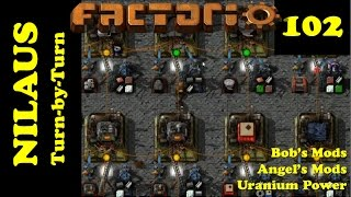Lets Play Factorio S3E102 - Trying to keep the Nuclear Power plants water cooled