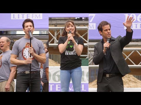 Kara Lindsay, Andy Karl, and Others Bring Broadway to Bryant Park