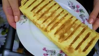 Обалденно вкусная и сочная шаурма(шаверма) в сырном лаваше с курицей. Простой рецепт😍
