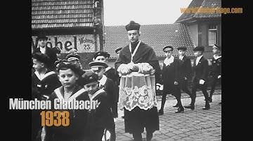 1938 - München Gladbach - (Mönchengladbach) - Kinderkommunion