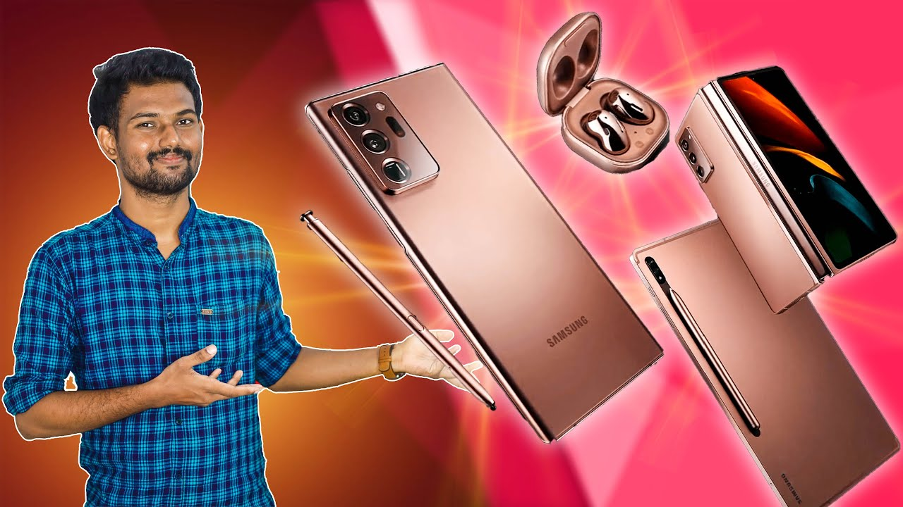 Samsungன் வேற லெவல் Gadgets! 🔥🔥🔥 | Samsung Unpacked Event August 2020 Explained in Tamil | Tech Boss