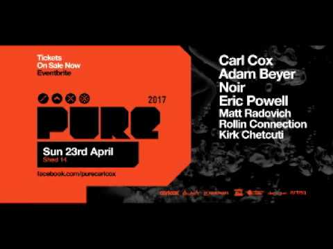 Adam Beyer – Live @ Pure (Shed 14, Melbourne) – 23-APR-2017