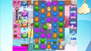 Candy Crush Saga Level 2463 NO BOOSTERS Cookie