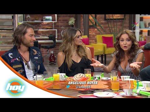 Entrevista con Sebastián Rulli y Angelique Boyer | Hoy