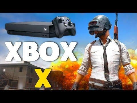 XBOX ONE X RELEASE | PUBG Xbox (Battlegrounds)