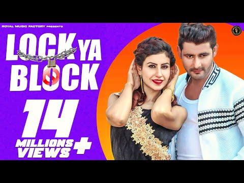 ✓ LOCK Ya BLOCK | Vijay Varma, Frishta Sana | Latest Haryanvi Songs Haryanavi 2019 | Dj Songs