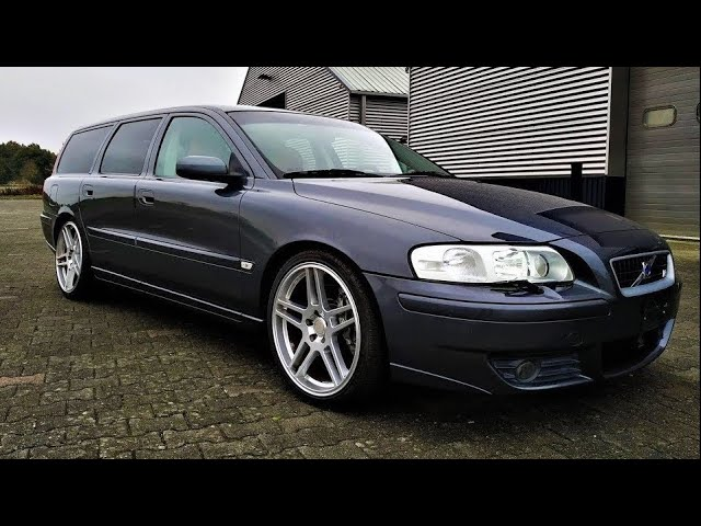 Stanced Volvo V70r 2 5 300hp Review Testdrive Youtube