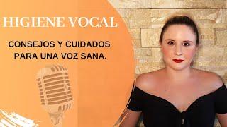 Cómo cuidar la voz | Higiene vocal para cantantes, logopedas, profesores, locutores, actores |