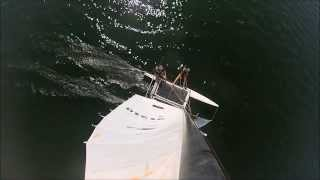 Catamaran flip
