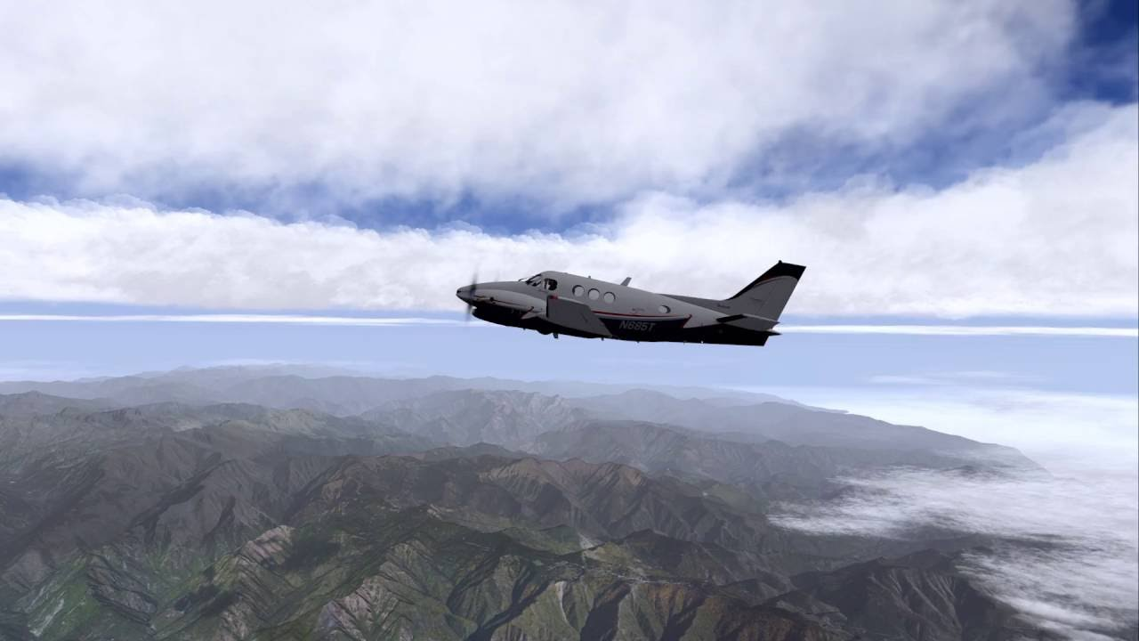 [X-Plane] Testing Weather Setup – HD-Clouds and NOAA PlugIn