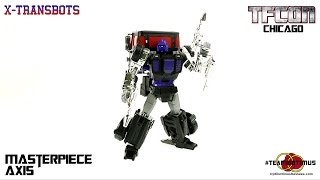 Video Review of the 2014 TFCon Chicago Exclusive: Masterpiece Axis