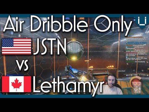 Unlimited Boost Air Dribble Only | JSTN vs Lethamyr