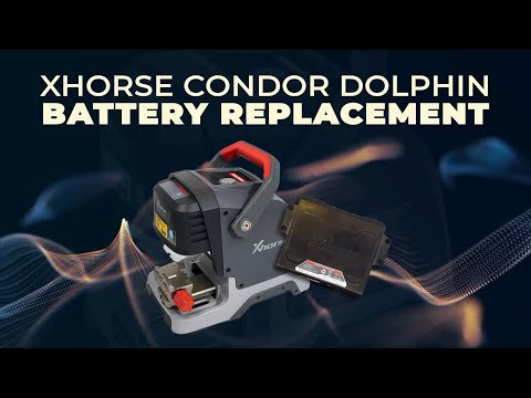 XHORSE Condor Dolphin Battery Replacement