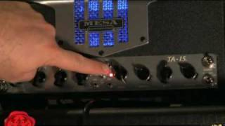 Mesa Boogie TA-15 TransAtlantic Demo Review TA15 Trans-Atlantic Mesa Engineering