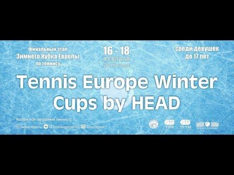 Tennis Europe Winter Cups by HEAD 2018 in Kazan Tennis Academy (Day 1)