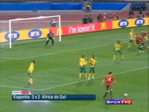 bec26fedf6 Copa das Confederações 2009 - 3º Lugar - África do Sul 2 x 3 Espanha ...