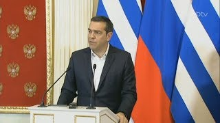 Ερώτηση του δημοσιογράφου του ΑΠΕ-ΜΠΕ Νίκου Λιονάκη στον πρωθυπουργό