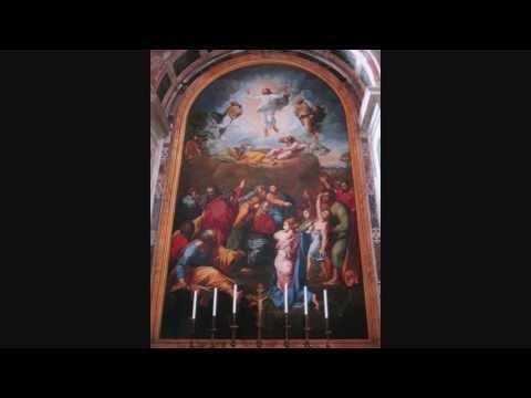 Kyrie ex Missa Pontificali Perosi Vaticano Altare Transfigurationis ante Opus Raphaelis Urbinatis