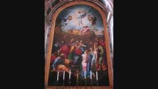 Kyrie ex Missa Pontificalis Perosi Vaticano Altare Transfigurationis ante Opus Raphaelis Urbinatis