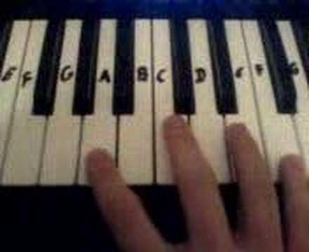 Gangsta Rap Made Me Do It Piano Tutorial
