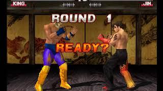 Tekken 3 ( PS1 ) - King - Arcade Mode - Original Music ( Dec 17, 2017 ) thumbnail
