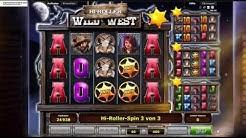 Wild West Slotgame angepielt im Stargames Casino