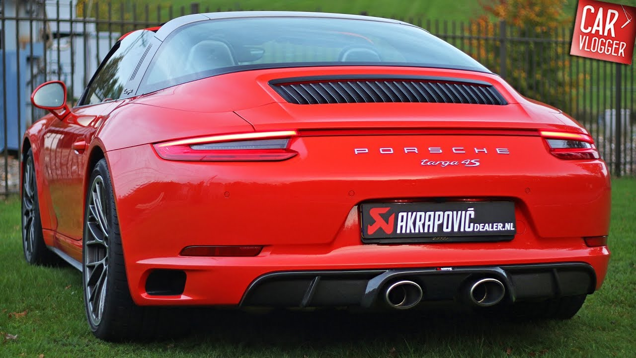 Exhaust Series Porsche 9912 Targa 4s W Akrapovic Evolution System