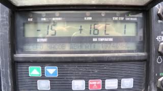 Запуск CARRIER VECTOR 1850 mt(Запуск рефрижераторной установки CARRIER VECTOR 1850 mt., 2015-06-30T11:24:52.000Z)