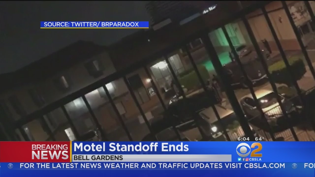 Standoff Ends In Bell Gardens