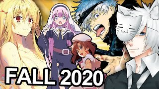 Fall 2020 Anime Season: What Will I Be Watching?